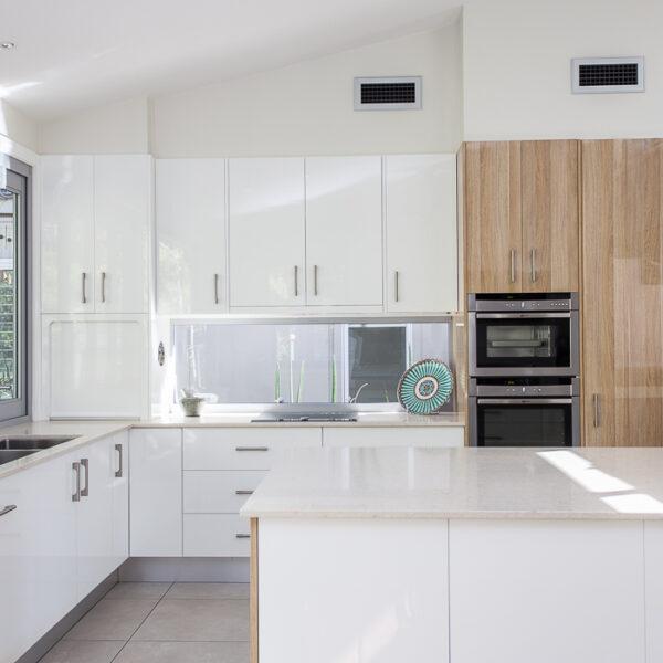 Amber Way home kitchen interior photo