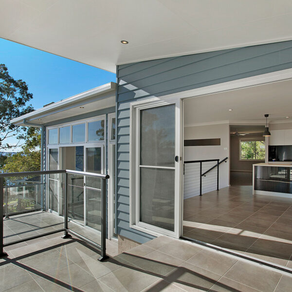 Freedom Homes verandah