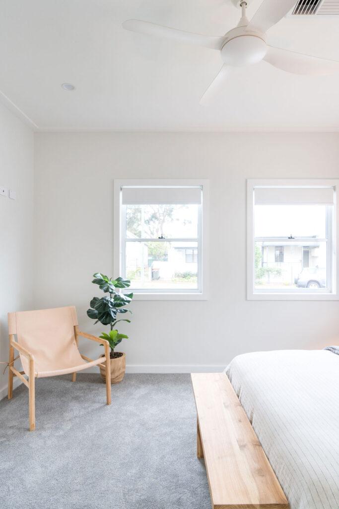 Custom Designed Freedom Homes Bedroom
